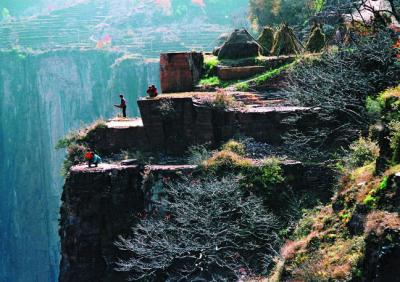 Guoliang Village on the Cliff