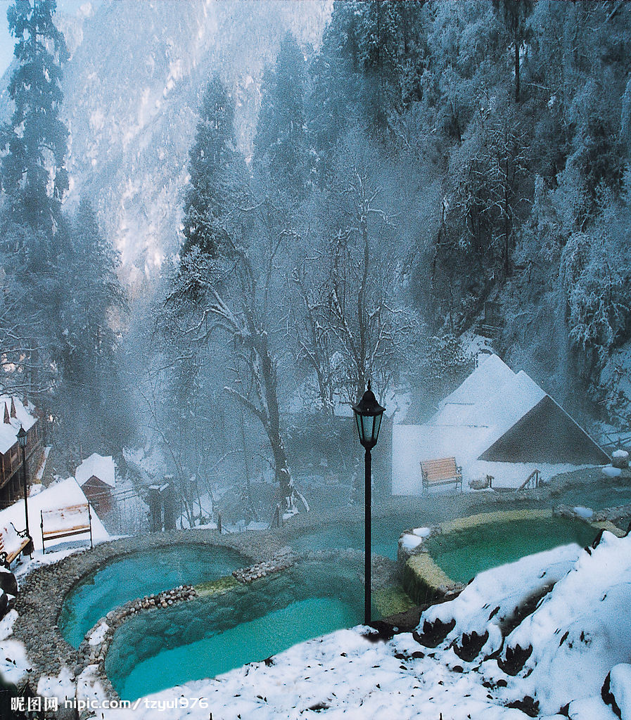 Hot Springs Chengdu Sichuan Attractions Travel Photos Of