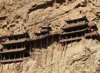 Hanging Monastery at Mount Heng Rock