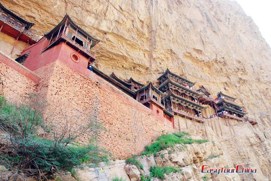 Hanging Monastery in Mt. Heng