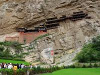 Hanging Monastery at Mount Heng Panorama