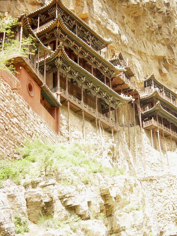 Hanging Monastery at Mount Heng Building