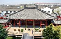 Ancient buildings at Hanshan Temple