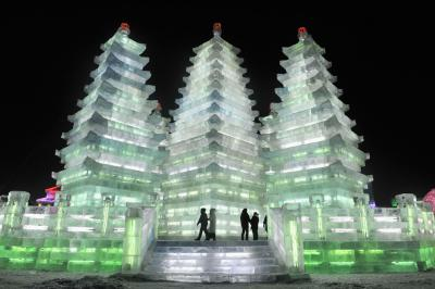 Gorgeous Picture of Harbin Ice and Snow Festival