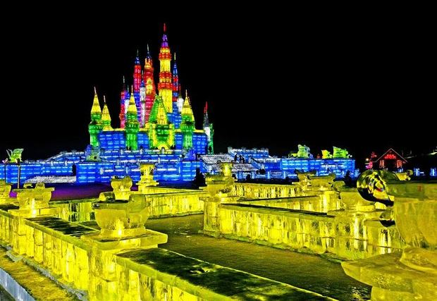 Harbin Ice and Snow Festival Ice Lantern