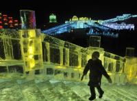 Beautiful Sight of Harbin Ice and Snow Festival