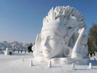 Harbin Ice and Snow Festival Snow Carving