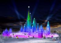 Harbin Ice and Snow Festival Castle