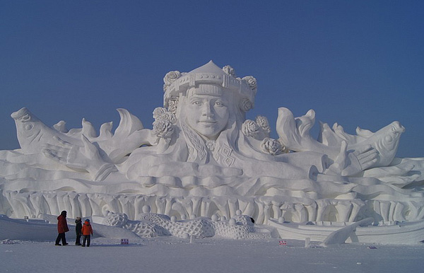 Harbin International Ice And Snow Festival 2013 China