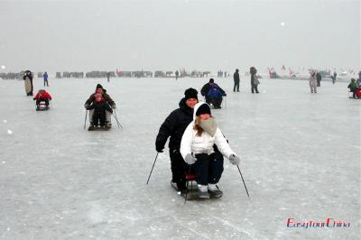 Ice Sledging in Harbin
