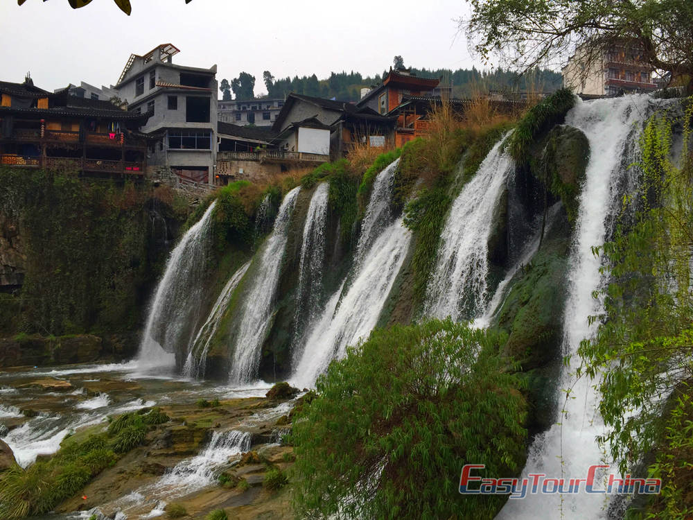 Wafterfall of Hibiscus Town, West Hunan