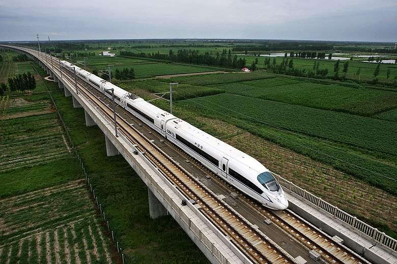 Kujjang-Kuangcsou nagysebességű vasútvonal, kína, CRH3
