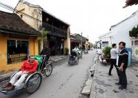 Hoi An Ancient Town sidecar sightseeing