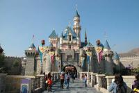 castle in disneyland