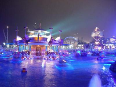Hong Kong Disneyland Night View