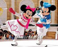 Hong Kong Disneyland Mickey Skating