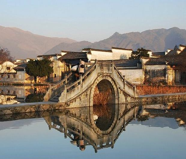 Hongcun and Xidi Village Bridge
