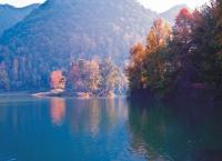 Hongfeng Lake in Autumn