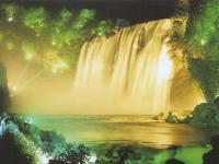 Huangguoshu Waterfall Night View