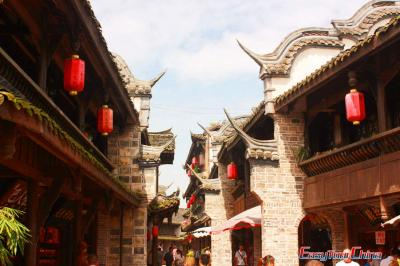 Buildings of Huanglongxi Ancient Town