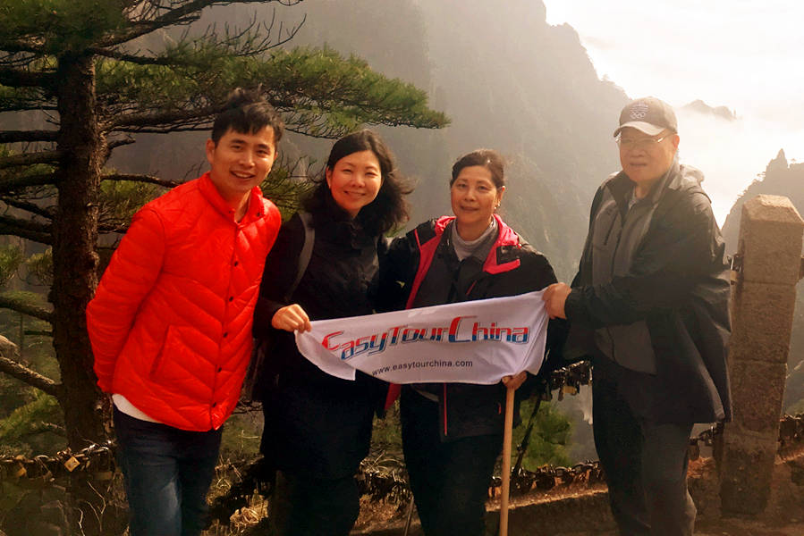 Canadian Family Tour with Seniors to Huangshan in 2018