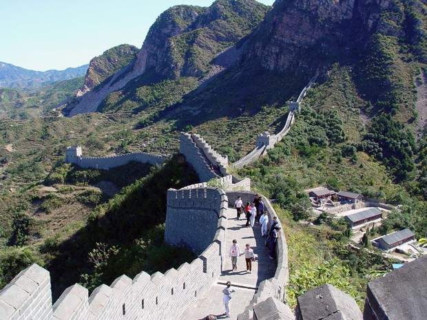 Huangyaguan Great Wall Visitors Hiking
