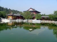 Huaqing Hot Spring Scenery