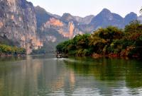 Mountain Hushan Rock Painting Site Boat Trip