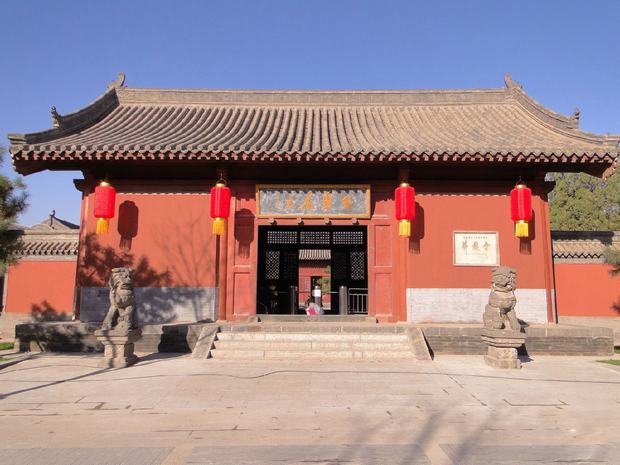 Huayan Temple Building