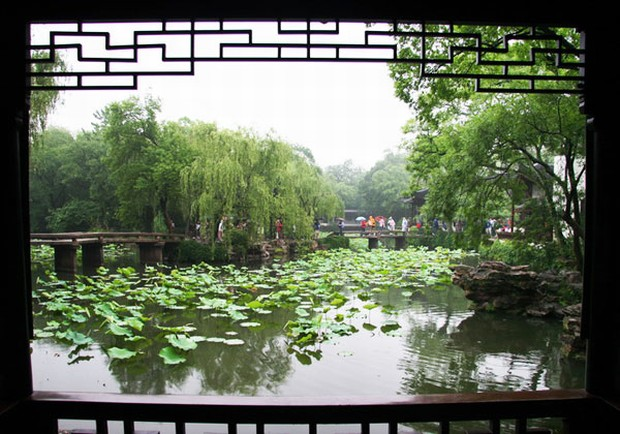 Humble Administrator S Garden Window Views Suzhou Attractions