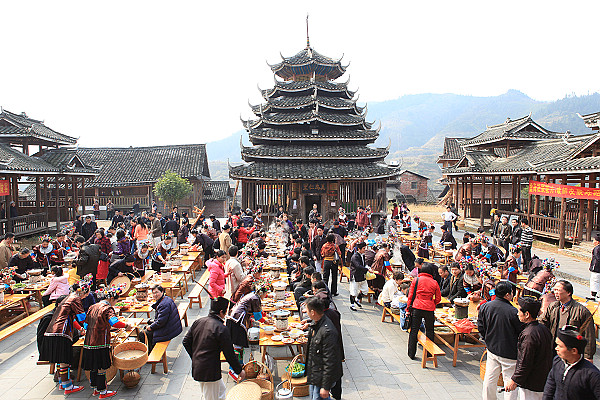 Hundred Families Banquet Drum Tower