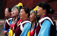 Impression Lijiang Show Ladies Singing