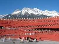 Impression Lijiang Show Snow Mountain