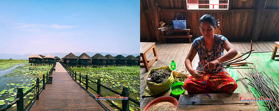 Myanmar tours to Inle Lake