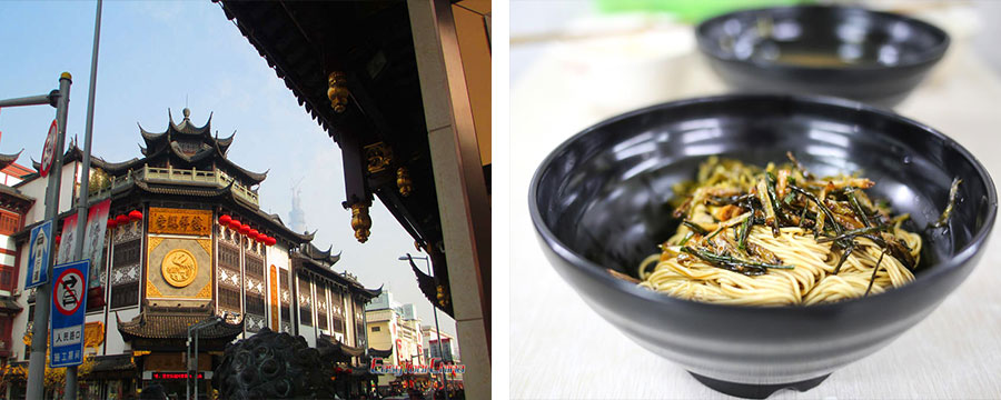 Shanghai history and food tour