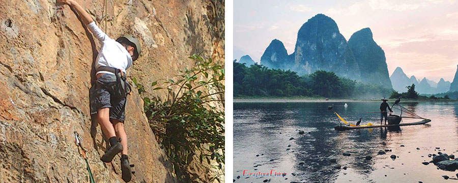 student tour in Guilin