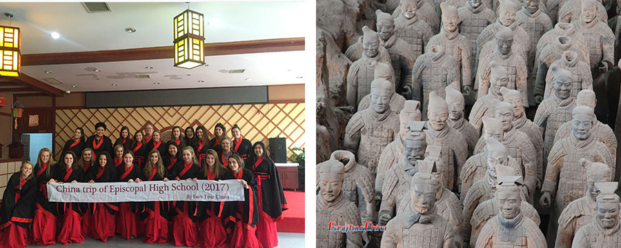 Visit Terracotta Warriors and dress in Han Clothing