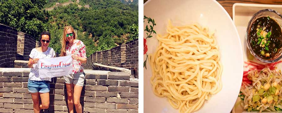 Mutianyu Great Wall and Beijing hutong food tour