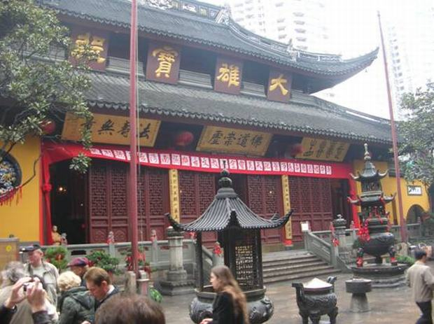 Shanghai Jade Buddha Temple Insight