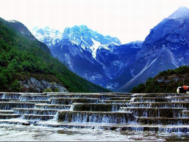 Scenic Jade Dragon Snow Mountain, Lijiang Jade Dragon Snow ...
