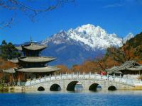 Jade Dragon Snow Mountain Distant View