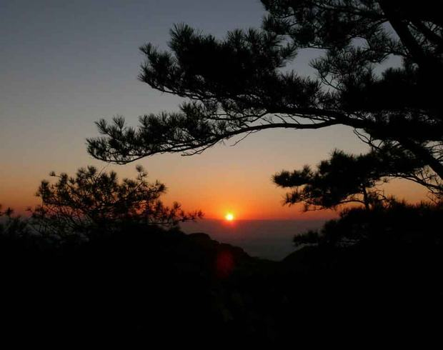 Jade Emperor Peak Sunrise