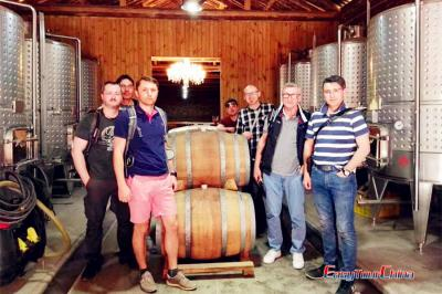 Clients Visiting Jade Valley Winery in 2017