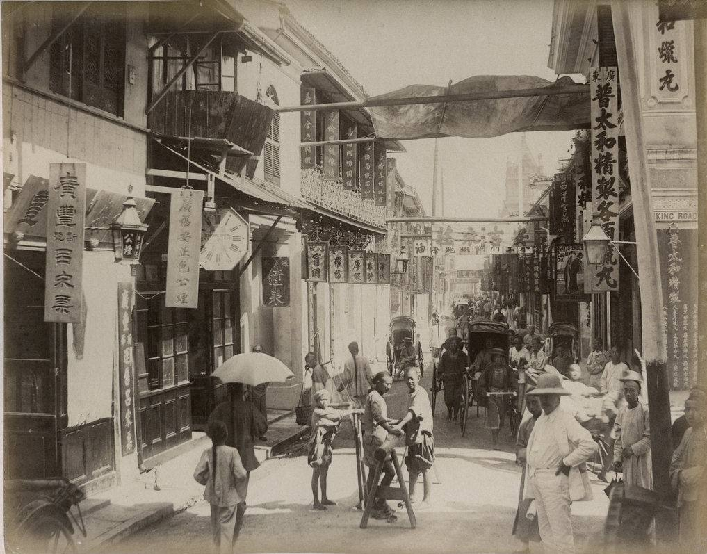 An Old Photo of Shanghai