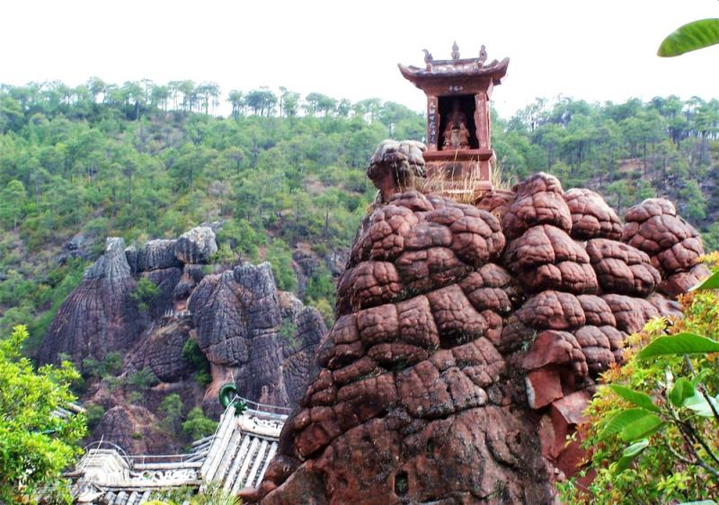 Jianchuan Shibao Mountain grotto arts