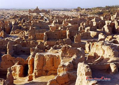Turpan Jiaohe Ruins Travel Photos