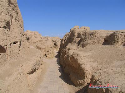 Pictures of Jiaohe Ruins