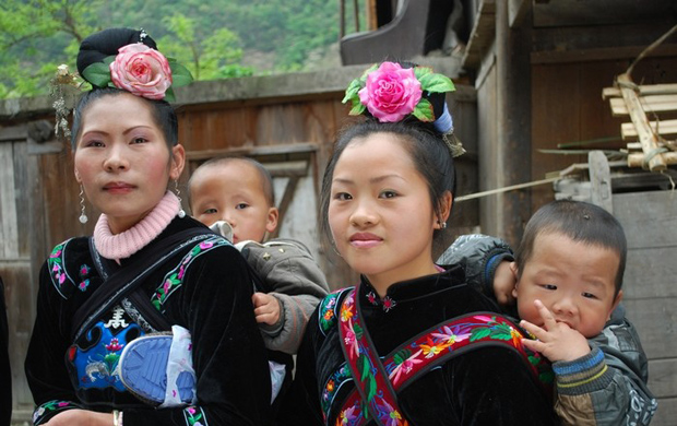 Jidao Miao Village Local People