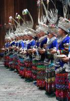 Jidao Miao Village Welcome Guests