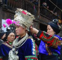 Jidao Miao Village Women